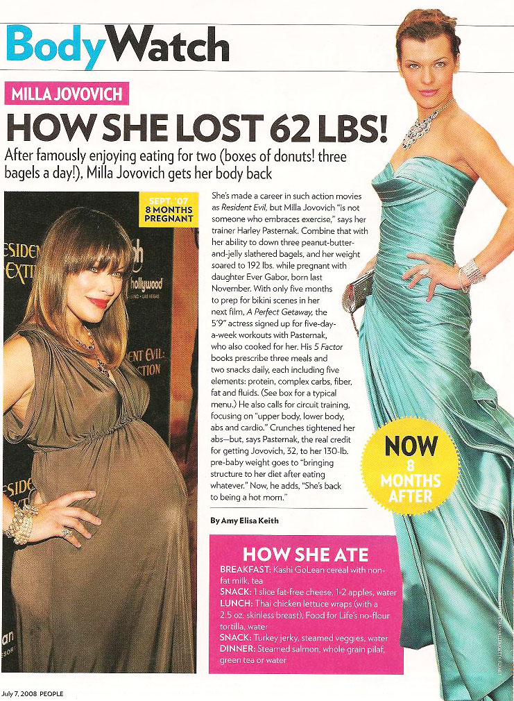 lose post baby weight